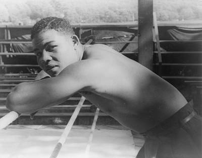 Joe Louis, At Greenwood Lake N.y Art Print by Everett