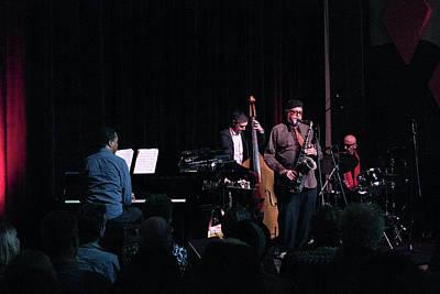 Photograph - Joe Lovano Classic Quartet 1 by Lee Santa
