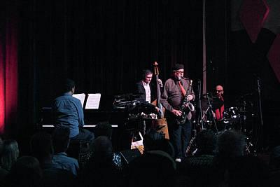 Photograph - Joe Lovano Classic Quartet 3 by Lee Santa