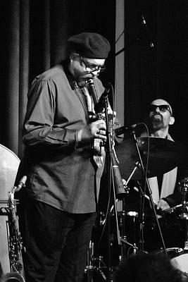 Photograph - Joe Lovano Plays The Tarogato1 by Lee Santa