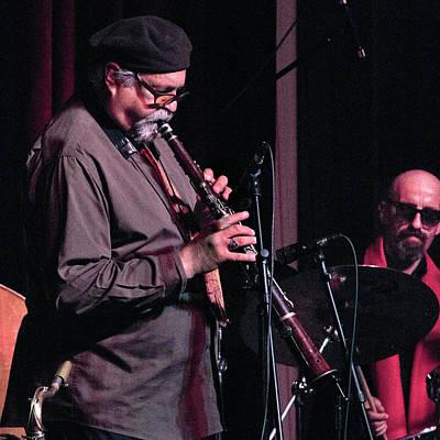 Photograph - Joe Lovano Plays The Tarogato 3 by Lee Santa