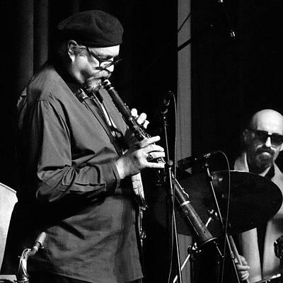 Photograph - Joe Lovano Plays The Tarogato 4 by Lee Santa