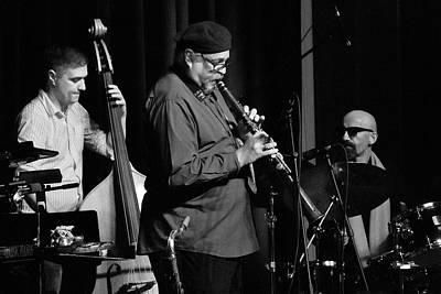 Photograph - Joe Lovano Plays The Tarogato2 by Lee Santa