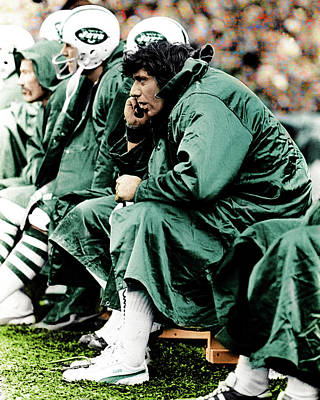 Joe Namath Original by Jonathan Eric