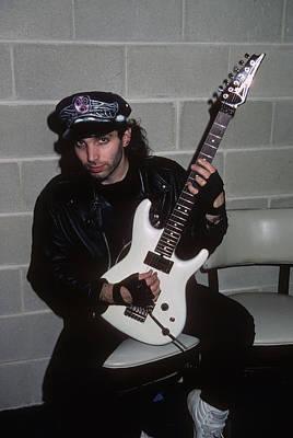Joe Satriani Art Print by Rich Fuscia