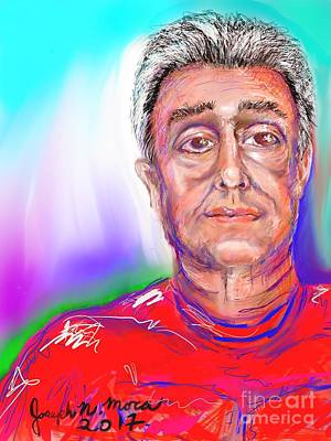 Digital Art - Joe Self Portiture  by Joseph Mora