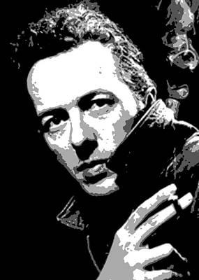 Joe Strummer Painting - Joe Strummer by Dan Carman