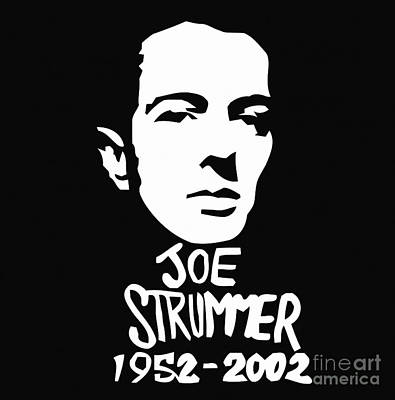 Painting - Joe Strummer by Jessie Art