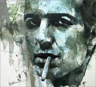 British Mixed Media - Joe Strummer - Retro  by Paul Lovering
