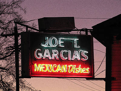 Joe T Garcia's Art Print