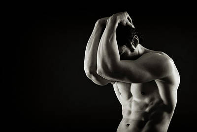 Male Physique Photograph - Joel Torso II by Thomas Mitchell