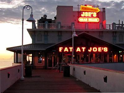 Photograph - Joe's Crab Shack   by Chris Mercer