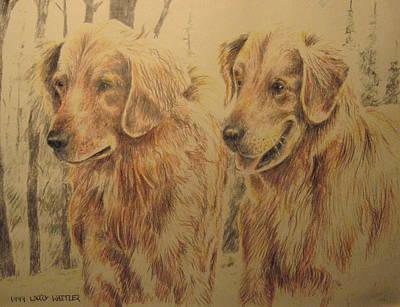 Joe's Dogs Art Print