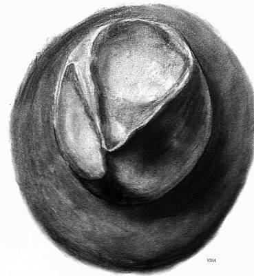 Drawing - Joe's Hat by VIVA Anderson
