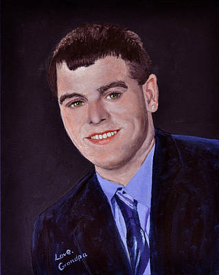 Painting - Joey At 18 by Stan Hamilton