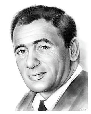 Joey Bishop Art Print