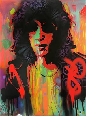 Joey Wall Art - Painting - Joey Ramone by Dean Russo Art