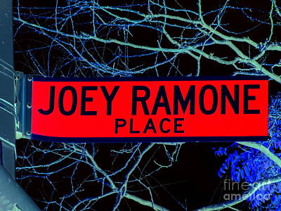 Digital Art - Joey Ramone Place by Ed Weidman