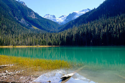 Photograph - Joffre Lake Horizontal by John McArthur