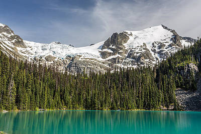Photograph - Joffre Lake Middle B.c Canada by Pierre Leclerc Photography