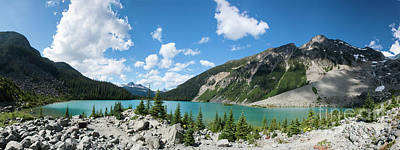 Photograph - Joffre Lakes by Rod Wiens