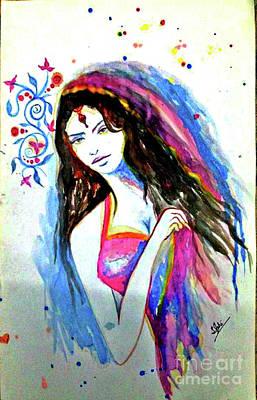 Syeda Ishrat Painting - Jogan by Syeda Ishrat