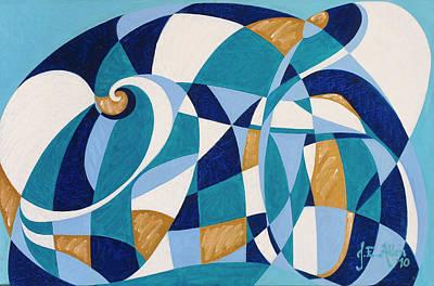 Joseph Edward Allen Painting - Jogo De Concha by Joseph Edward Allen