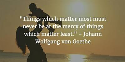 Photograph - Johann Wolfgang Von Goethe Quote by Matt Create