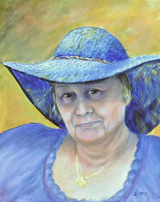 Painting - Johanna by Luczay