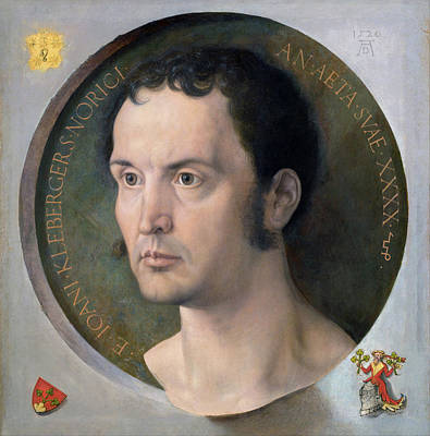 Painting - Johannes Kleberger  by Albrecht Durer