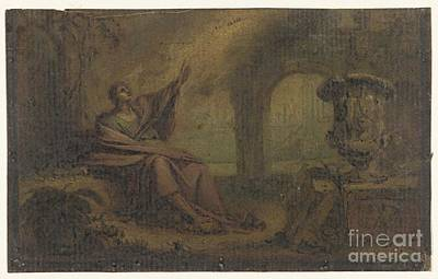 Op Painting - Johannes Op Patmos by Celestial Images