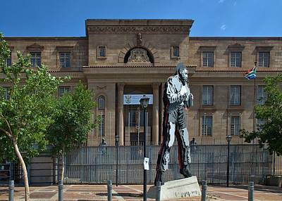 Photograph - Johannesburg Magistrates Court by Steven Richman