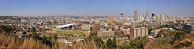 Photograph - Johannesburg Panorama by Joe Bonita