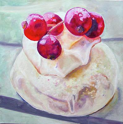 Moderne Kunst Painting - Johannisbeertortchen by Charlotte Von Elm