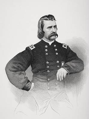 Memorial Day Drawing - John A. Logan 1826 To 1886. Union by Vintage Design Pics