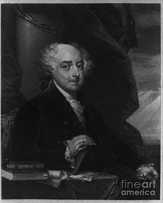 Photograph - John Adams Second Potus by Richard W Linford