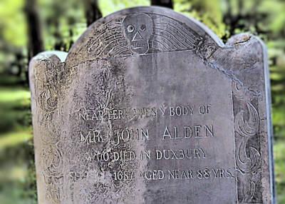 Photograph - John Alden by Janice Drew