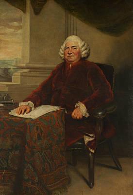 John Barker Print by Joshua Reynolds