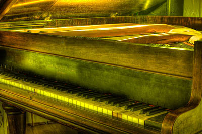 Photograph - John Broadwood And Sons Piano by Semmick Photo