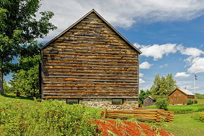 Photograph - John Brown Home And Farm  -  Johnbrownfarm172588 by Frank J Benz