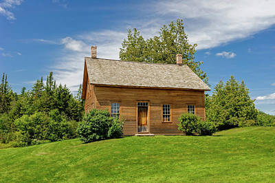 Photograph - John Brown Home And Farm  -  Johnbrownhome172591 by Frank J Benz