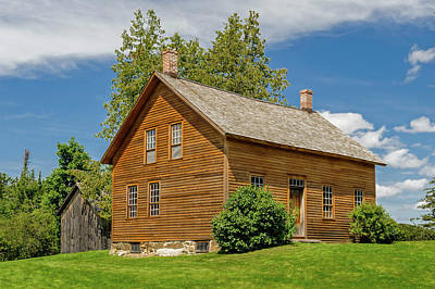 Photograph - John Brown Home And Farm  -  Johnbrownhome172595 by Frank J Benz