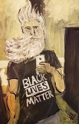John Brown Selfie  Original by Nell King