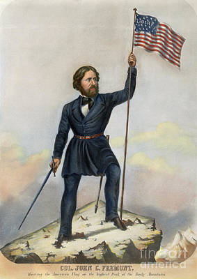 Drawing - John C. Fremont by Granger