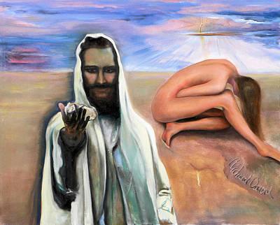 Painting - John C8 V7 by Richard Barone