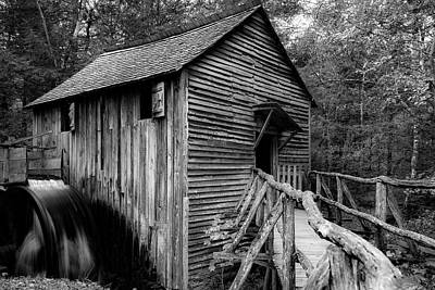 Photograph - John Cable Grist Mill I by Steven Ainsworth