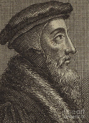 John Calvin, French Theologian And Pastor Of The Protestant Reformation  Art Print