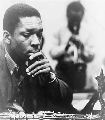 African American Photograph - John Coltrane 1926-1967, Master Jazz by Everett