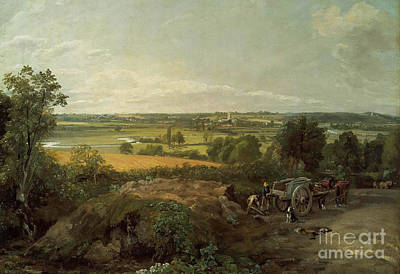 Dedham Painting - John Constable by MotionAge Designs