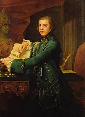 18th Century Painting - John Crewe by Pompeo Girolamo Batoni
